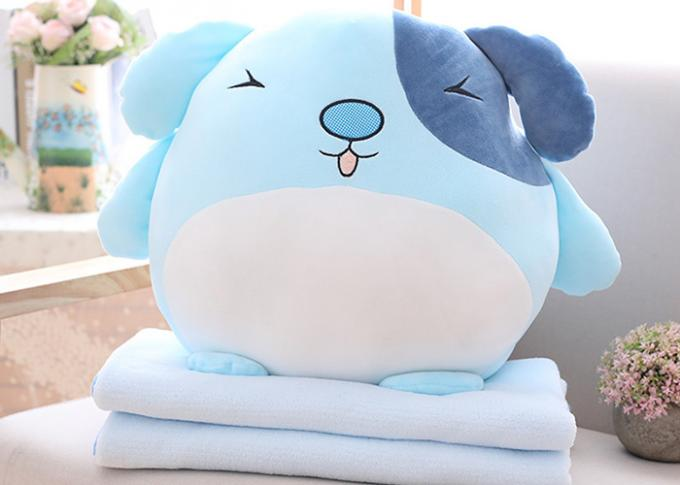 Fully filling size Custom Plush Toys soft stuff decorative dog pillows
