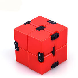 China Anxiety Stress Relief Magic Cube , Anti Stress Toys With Plastic / Alloy Material supplier