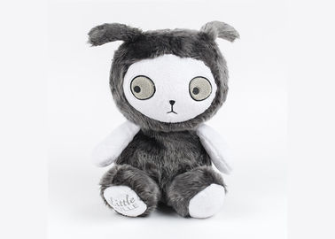 China Adornment Simulation Rabbit Plush Toy / Custom Stuffed Toys Gray Color supplier