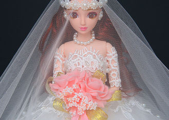 China Fashion Wedding Doll Toy Modern Design 45cm Size For Children EN71 Approved supplier