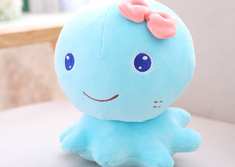 China Down Cotton Octopus Soft Toy , Stuffed Octopus Toy For Children Birthday Gift supplier