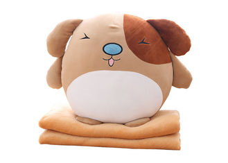China Fully filling size Custom Plush Toys soft stuff decorative dog pillows supplier