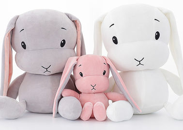 China Custom Personalised Plush Toys / LUCKY Stuffed Bunny Rabbit Toys 30 - 70cm Size Optional supplier