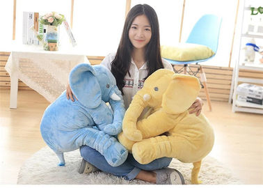 China Eco Friendly Fabric Stuffed Elephant Toy , Cuddly Elephant Soft Toy Up To 90cm supplier