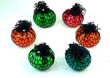 China Funny Creative Decompression Toys / Vent Grape Ball Color Optional For Hand Pinch supplier