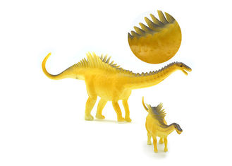 China 12 Models Big Popular Dinosaur Toys With Simulation Electrostatic Plastic Model supplier