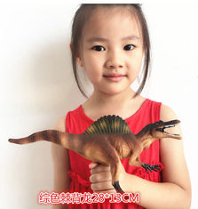 China Customized Dinosaur Model Toys L28*W7.5*H13 Plastic Jurassic Park Spinosaurus Toy supplier
