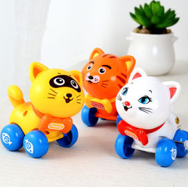China Classic Little Wind Up Toys , Kitten Small Wind Up Toys 9cm Long 0.05kg supplier
