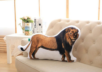 China Lion Pattern Custom Plush Toys 100% PP Cotton Fill In For Sofa Cushion supplier