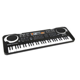 China Multi Function 61 Key Child Keyboard Piano With Microphone , Children ' S Electric Piano supplier