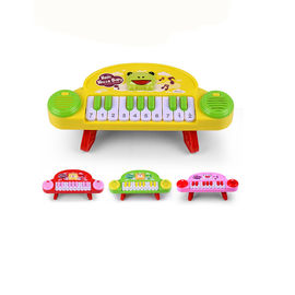 China Early Education Preschool Musical Instruments 10 Key Music Keyboard Infant Enlightenment supplier