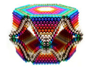 Magic Decompression Toy / Buckyballs Magnetic Balls 5mm 3mm For Children Gift