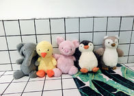 China Sweet Cute Pet Plush Toy , Bird Penguin Stuffed Toy With Long Neck / Sound factory