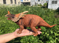 China L30*W10*H14 Walking Triceratops Toy / Plastic Triceratops Dinosaur Toy company