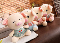 China Personalized Pig Plush Toy , Extra Soft Cute Pig Doll For  Girls / Kids Gift factory