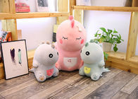China Cute Pink Dinosaur Soft Toy Doll Handcuffs Two In One Plush Toy CE Approved factory