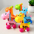 China Giraffe Plastic Wind Up Toys 8cm High Beautiful Appearance For Preschool Education factory