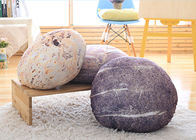 China Creative Stone Floor Pillows , Simulation Stone Shaped Pillows For Decorative company
