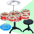 China 5 Drums Plus A Stool Toy Musical Instruments , Baby Musical Instruments company