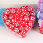 24 Heart Shaped Eternal Rose Flower Soap Box Festival Promotion Creative Gifts