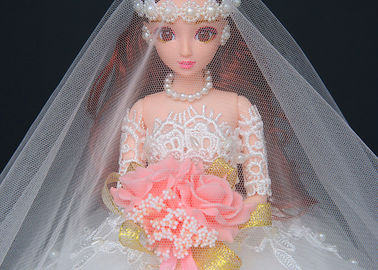 China Fashion Wedding Doll Toy Modern Design 45cm Size For Children EN71 Approved factory