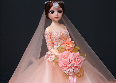China Professional Wedding Doll Toy 45cm Size Color Optional With Wedding Dress factory