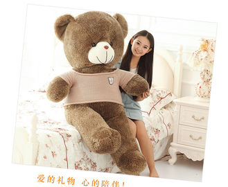 Safe Personalized Soft Toys , Teddy Bear Plush Toy Up To 200 CM For Birthday Gift