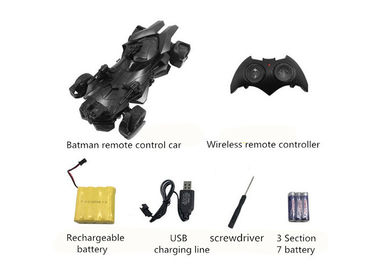 Remote Control Toy Car / Kids Superman Batman Chariot For Christmas Gift
