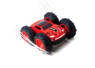 Professional Children'S Remote Control Car / Double Sided RC Stunt Car