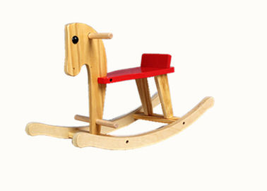Professional Kids Exercise Bike / Solid Wood Rocking Horse For Christmas Gift