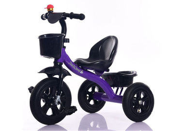 Multi Color Kids Exercise Bike 75cm 6kg Three Wheel Baby Bike Stroller