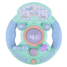 Keyboard Light Music Steering Wheel Musical Instrument Toys , Popular Baby Toys