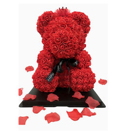 25/40cm Simulation Artificial Rose Bear With Light For Romantic Valentine Day Gift