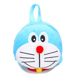 Jingle Cat Blue Color Kids Plush Backpack / Fashion Plush Character Backpacks