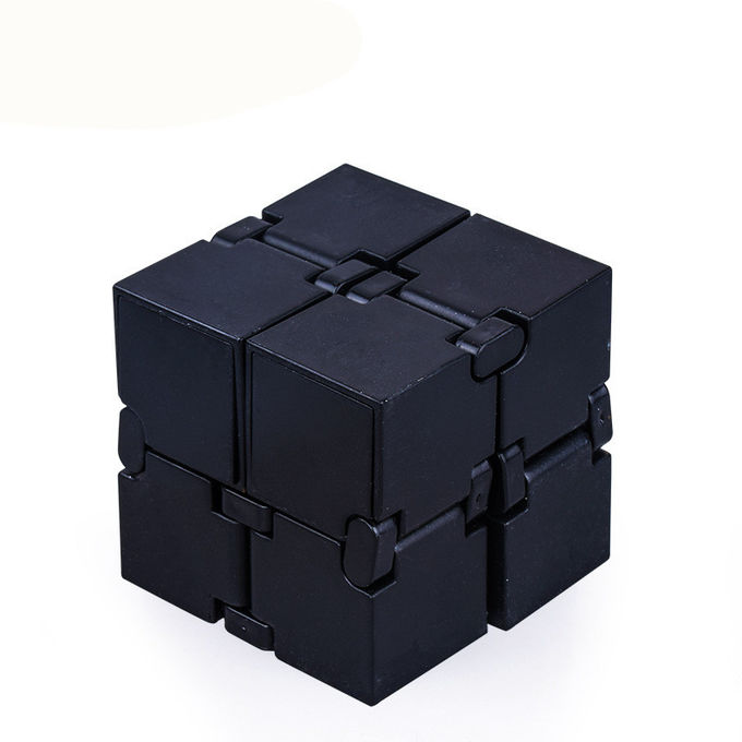 Anxiety Stress Relief Magic Cube , Anti Stress Toys With Plastic / Alloy Material